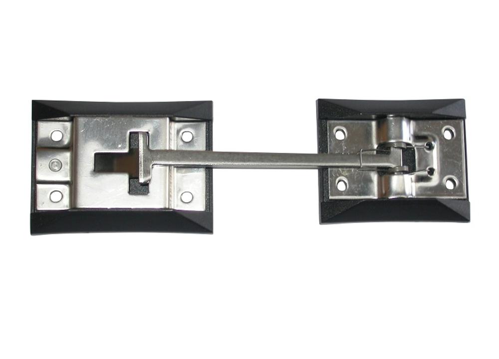 Door Retainer Set 76mm x 45mm Stainless Steel