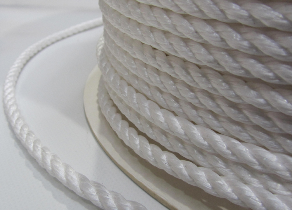 Polypropylene Rope 5mm x 220m White