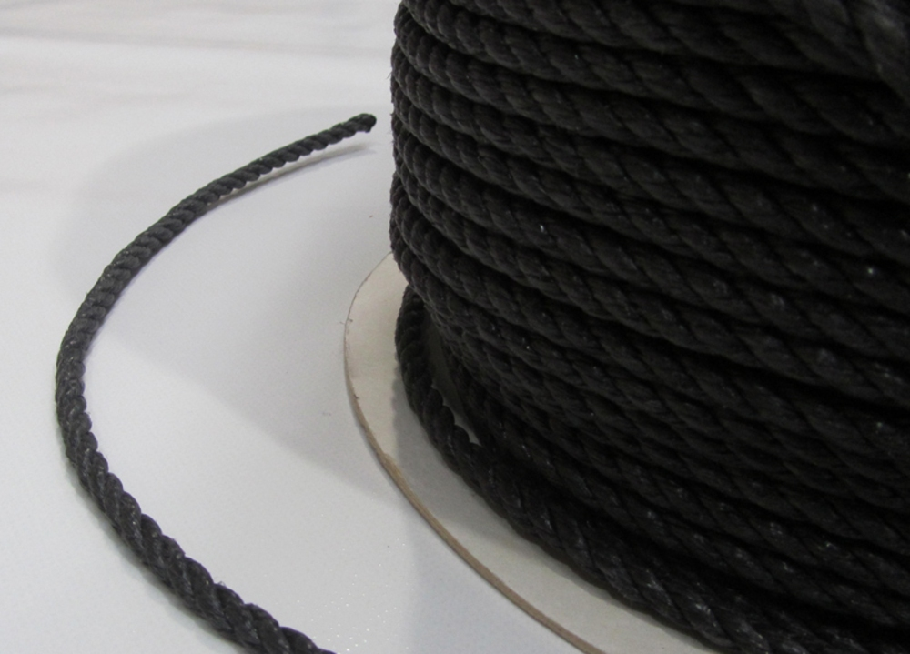 Polypropylene Rope 6mm x 220m Black