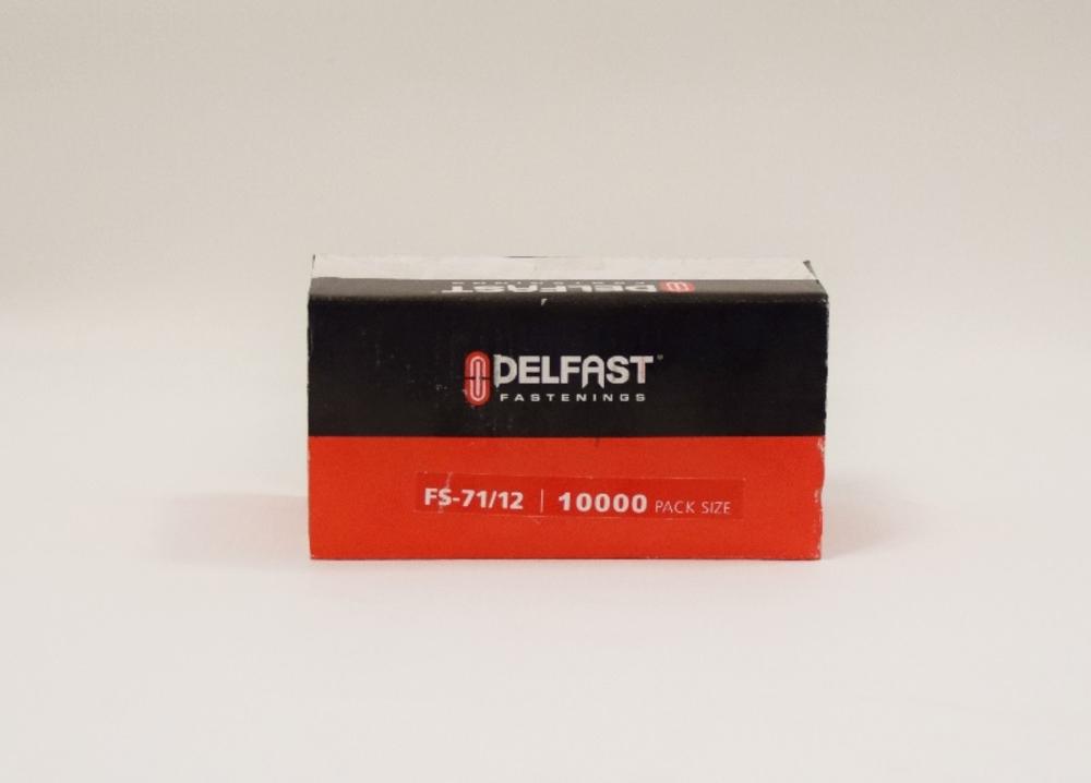 Delfast Staples 71 Series Galv 12mm 10000 **Obsolete**