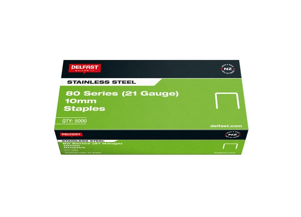 Delfast Staples 80 Series SS 10mm 5000