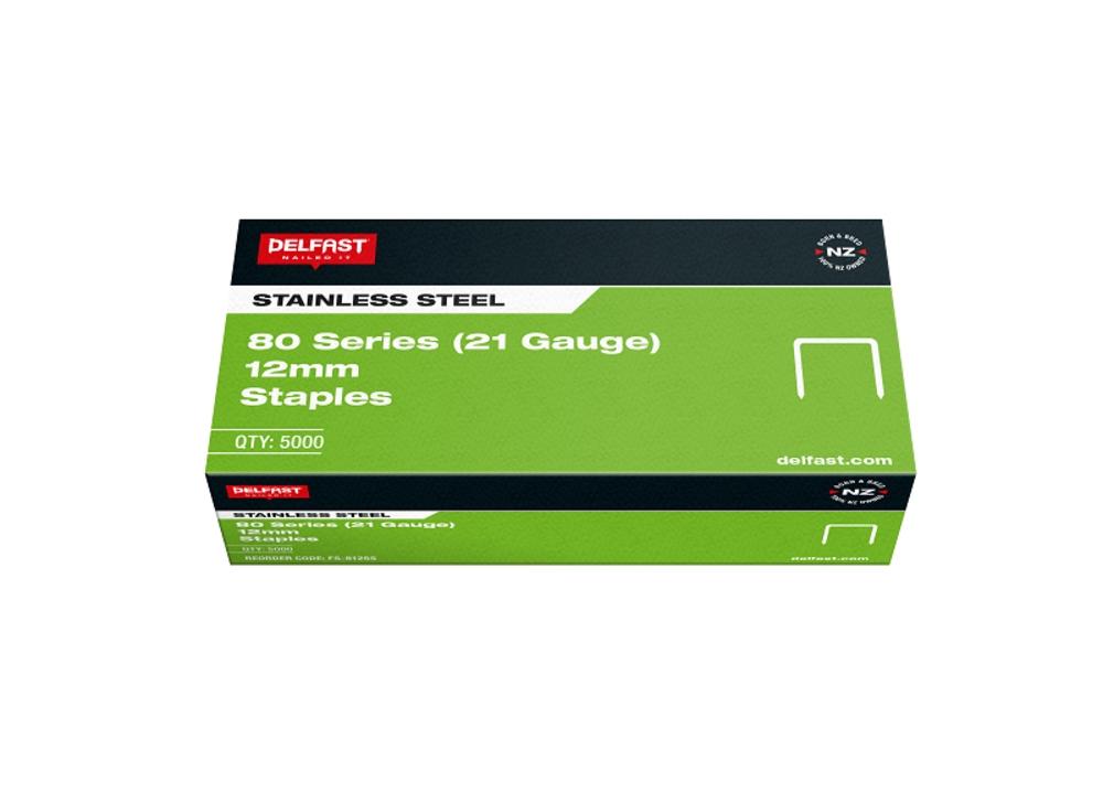 Delfast Staples 80 Series SS 12mm 5000