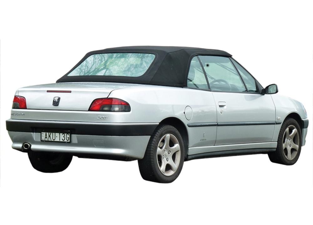 Peugeot 306 1994-2004  Auto Top SF Cloth Black **Obsolete**