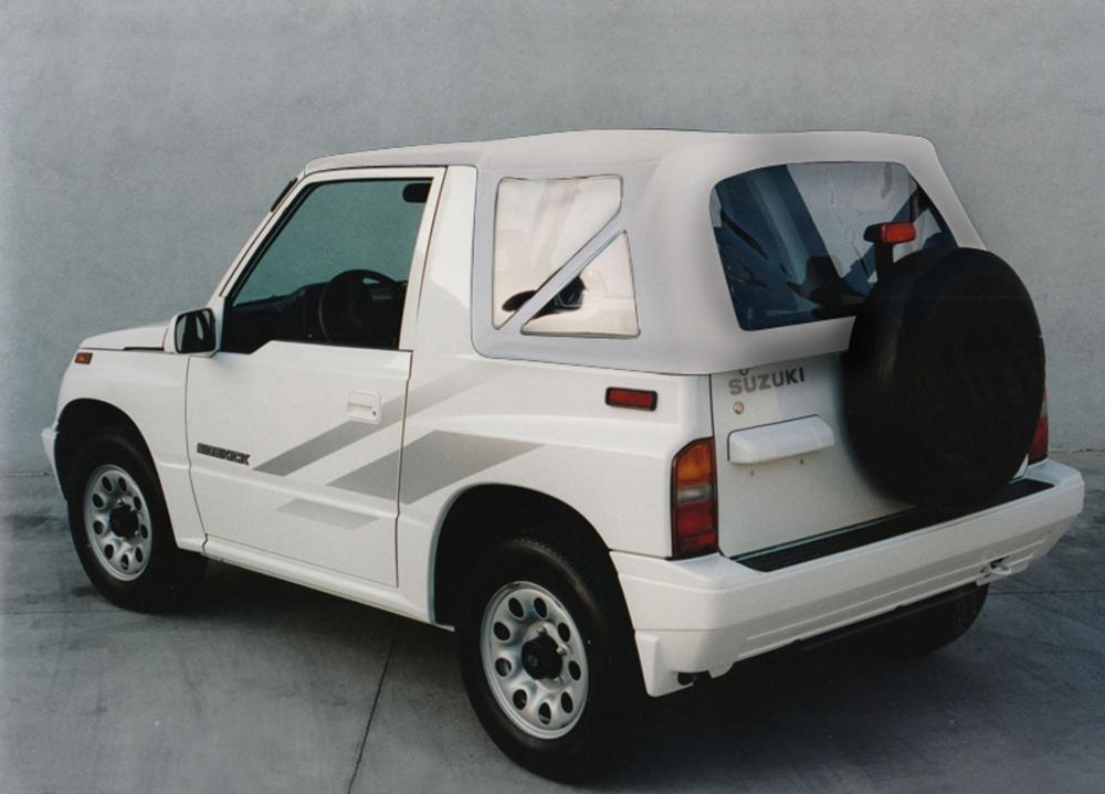 Suzuki Vitara 1989-94 Top Crush Grain Vinyl White **Obsolete**