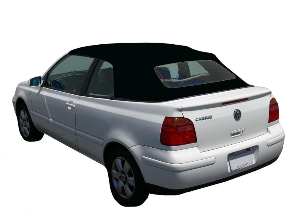 VW Golf 2001-2002 Top Black Cloth