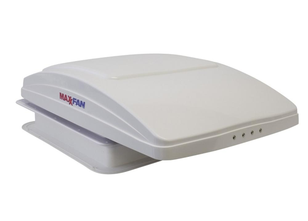Maxx Fan 14 x 14 12 Volt Manual White Lid